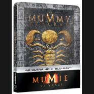 Mumie se vrací (The Mummy Returns) 2Blu-ray (UHD+BD) Steelbook