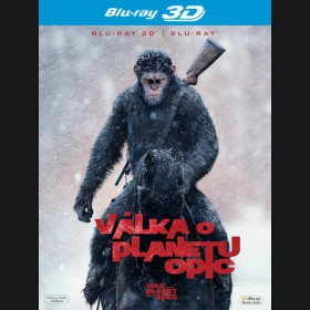 VÁLKA O PLANETU OPIC (War for the Planet of the Apes) Blu-ray 3D + 2D