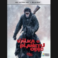 VÁLKA O PLANETU OPIC (War for the Planet of the Apes) UHD+BD - 2 x Blu-ray