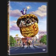 Velká oříšková loupež 2 (The Nut Job 2: Nutty By Nature) DVD