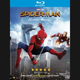 SPIDER-MAN: HOMECOMING Blu-ray + komiks