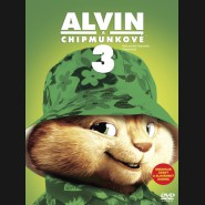 Alvin a Chipmunkové 3 (Alvin and the Chipmunks: Chip-Wrecked) Big Face DVD