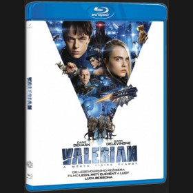 Valerian a město tisíce planet (Valerian and the City of a Thousand Planets) Blu-ray