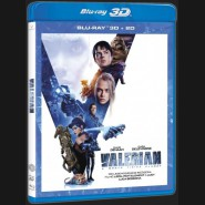 Valerian a město tisíce planet (Valerian and the City of a Thousand Planets) Blu-ray 3D+2D
