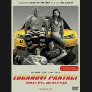 Loganovi parťáci (Logan Lucky) DVD