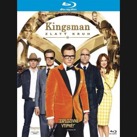KINGSMAN: ZLATÝ KRUH (Kingsman: The Golden Circle) Blu-ray