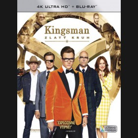 KINGSMAN: ZLATÝ KRUH (Kingsman: The Golden Circle) UHD+BD - 2 x Blu-ray
