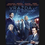 VRAŽDA V ORIENT EXPRESSU 2017( Murder on the Orient Express) DVD