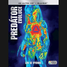Predátor: Evoluce (The Predator 2018) 4K Ultra HD) - UHD+BD - 2 x Blu-ray