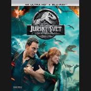 Jurský svet: Zánik ríše 2018 (Jurassic World: Fallen Kingdom) (4K Ultra HD) - UHD+BD - 2 x Blu-ray (SK OBAL)