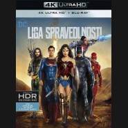 Liga spravedlnosti 2017 (Justice League) (4K Ultra HD) - UHD+BD - 2 x Blu-ray