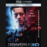 Terminátor 2: Den zúčtování 1991 (Terminator 2: Judgment Day) (4K Ultra HD) - UHD+BD - 2 x Blu-ray