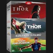 Thor kolekce 1-3 (3Blu-ray)
