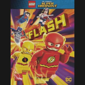 Lego DC Super hrdinové: Flash 2016 (Lego DC Super Heroes: The Flash) DVD