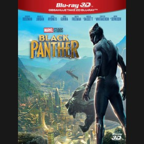 Čierny panter 2018 (Black Panther) Blu-ray 3D+2D