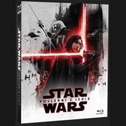 STAR WARS: Epizoda VIII - Poslední z Jediů 2017 (Star Wars: The Last Jedi) BLU-RAY Limitovaná edice v rukávu První řád