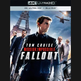 Mission: Impossible 6 - Fallout 2018 (4K Ultra HD) - UHD+BD - 3 x Blu-ray +bonus disk