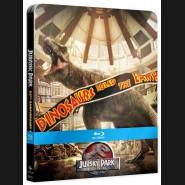 Jurský park - Kolekce 1-4 (25. výročí)  Blu-ray   Steelbook