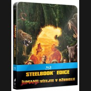 JUMANJI: VÍTEJTE V DŽUNGLI! 2017 (Jumanji: Welcome to the Jungle) Blu-ray Steelbook (International artwork)