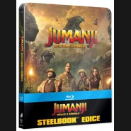JUMANJI: VÍTEJTE V DŽUNGLI! 2017 (Jumanji: Welcome to the Jungle)  Blu-ray Steelbook (US artwork)