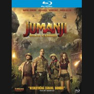JUMANJI: VÍTEJTE V DŽUNGLI! (Jumanji: Welcome to the Jungle) BLU-RAY (SK obal)
