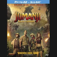 JUMANJI: VÍTEJTE V DŽUNGLI! 2017 (Jumanji: Welcome to the Jungle) Blu-ray 3D + 2D (SK obal)