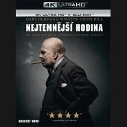 Nejtemnější hodina 2017 (Darkest Hour)  (4K Ultra HD) - UHD+BD - 2 x Blu-ray