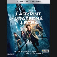 Labyrint: Vražedná léčba 2018 (Maze Runner: The Death Cure) (4K Ultra HD) - UHD+BD - 2 x Blu-ray