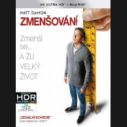 Zmenšování 2017 (Downsizing) (4K Ultra HD) - UHD+BD - 2 x Blu-ray