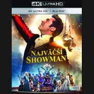 Najväčší showman 2017 (The Greatest Showman) (4K Ultra HD) - UHD+BD - 2 x Blu-ray  (SK obal)