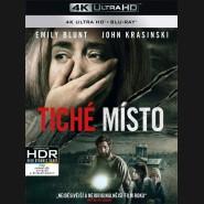 TICHÉ MÍSTO 2018 (A Quiet Place) (4K Ultra HD) - UHD+BD - 2 x Blu-ray