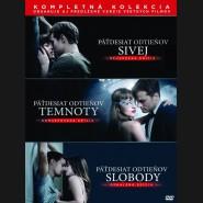 Pätdesiat odtieňov (FIFTY SHADES) Kompletná kolekcia 2018 (3 DVD)