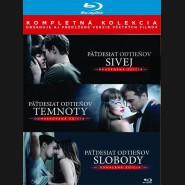 Pätdesiat odtieňov (FIFTY SHADES) Kompletná kolekcia 2018 (3 Blu-ray) (SK obal)