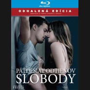 Päťdesiat odtieňov slobody 2018 (Fifty Shades Freed) Blu-ray (SK obal)