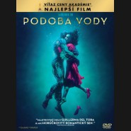 Podoba vody 2017 (The Shape of Water) DVD (SK obal)