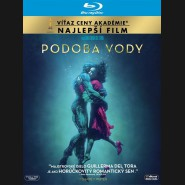 Podoba vody 2017 (The Shape of Water) Blu-ray (SK obal)