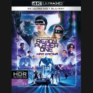 Ready Player One: Hra začíná 2018 (Ready Player One) (4K Ultra HD) - UHD+BD - 2 x Blu-ray