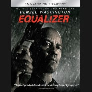 EQUALIZER 2014 ( The Equalizer) (4K Ultra HD) - UHD+BD - 2 x Blu-ray (SK obal)