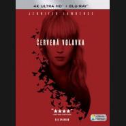 Červená volavka 2018 (Red Sparrow) (4K Ultra HD) - UHD+BD - 2 x Blu-ray (SK obal)
