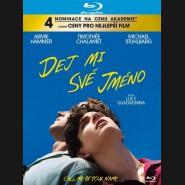 Dej mi své jméno 2017 (Call Me by Your Name) Blu-ray