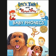 Let's Talk With Puppy Dog - Baby Phonics DVD