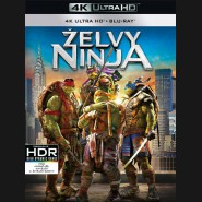 Želvy Ninja 2014 (Teenage Mutant Ninja Turtles) (4K Ultra HD) - UHD+BD - 2 x Blu-ray