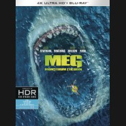 MEG: Monstrum z hlubin 2018 (The Meg) (4K Ultra HD) - UHD Blu-ray + Blu-ray