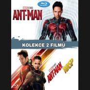 Ant-Man kolekce 1.-2. 2BD   (Ant-Man + Ant-Man and the Wasp) Blu-ray