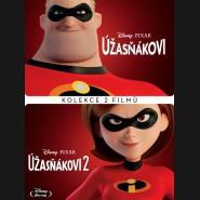 Rodinka Úžasných 1+2 / Úžasňákovi 1+2 - 2018 (Incredibles 1+ 2) Blu-ray