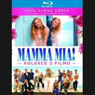 Mamma Mia! / Mamma Mia! Here We Go Again - kolekce - 2XBlu-ray