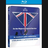 BOND - VE SLUŽBÁCH JEJÍHO VELIČENSTVA (On Her Majesty's Secret Service) - Blu-ray STEELBOOK