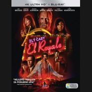 ZLÝ ČASY V EL ROYALE 2018 (Bad Times at the El Royale) (4K Ultra HD) - UHD Blu-ray + Blu-ray