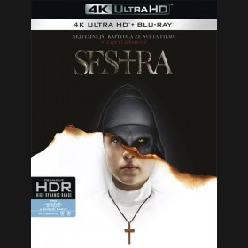 Mníška / Sestra 2018 (The Nun) (4K Ultra HD) - UHD Blu-ray + Blu-ray