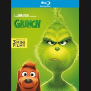 Grinch 2018 (animovaný) Blu-ray